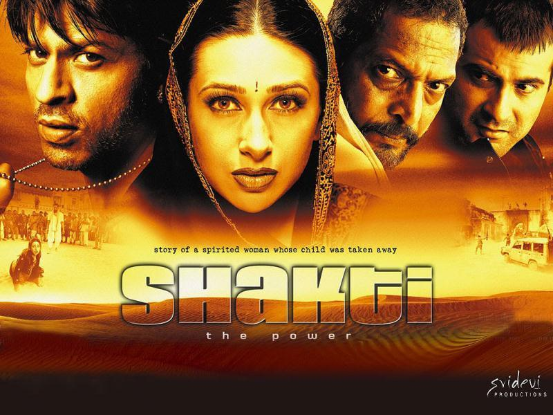 Karisma Kapoor worked in another woman-centric film Shakti opposite Sanjay Kapoor. The film also starred SRK.