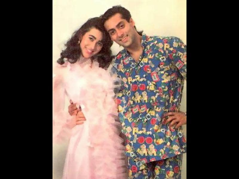 Karisma Kapoor was paired up opposite Salman Khan in Andaz Apna Apna. Her comic timing was perfect in the movie.