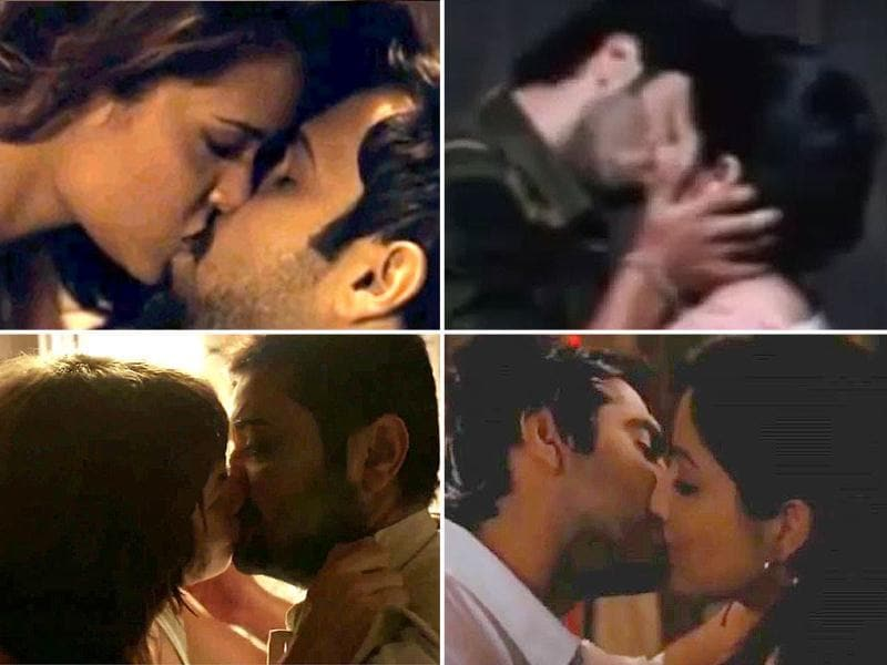 If last year was high on sleaze quotient, this year is not way behind. Bollywood movies, it seems, are getting bolder with each passing month. Here's a half-yearly report on the hottest liplocks of 2012.