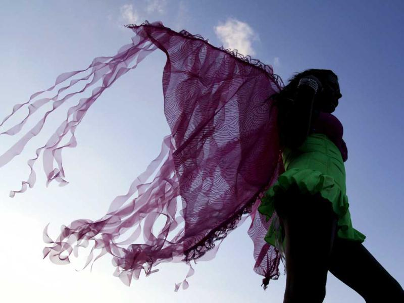A participant takes part in a parade celebrating sexual diversity in Monterrey. Thousands of members and supporters of the lesbian, gay, bisexual and transgender (LGBT) community took part in the event. Reuters/Daniel Becerril