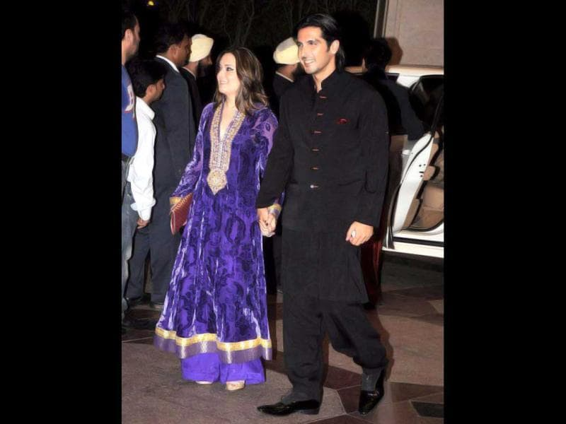 Zayed Khan was also present.
