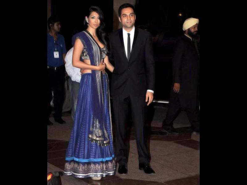 Abhay Deol with girlfriend Preeti.