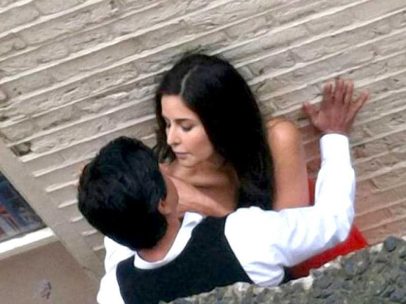 Shah Rukh Khan and Katrina Kaif, who are working together for the first time, recently shot for a romantic sequence at Covent Garden in London for Yash Chopra's yet untitled directorial venture.