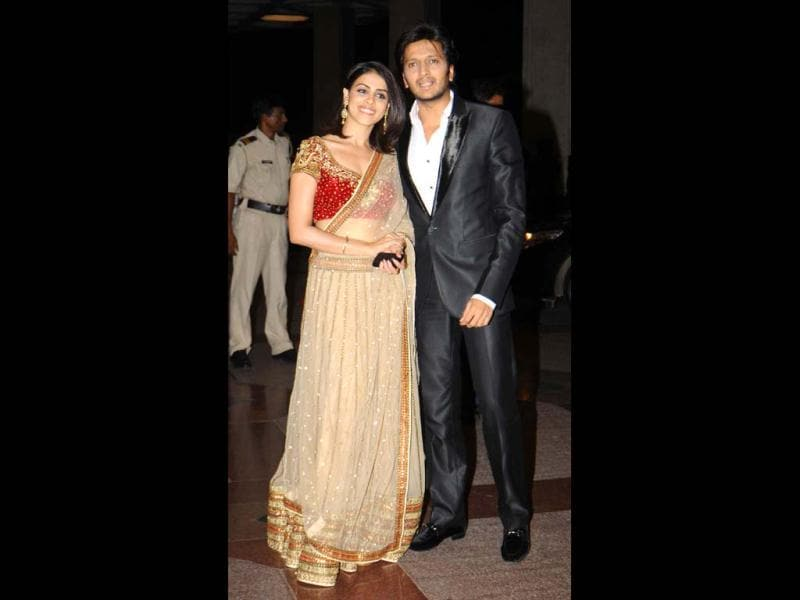 Riteish Deshmukh and Genelia D'Souza look good together.