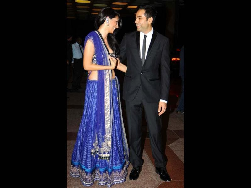 Lovebirds Abhay Deol and Preeti Desai were also spotted.