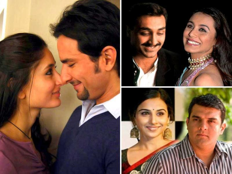Kareena Kapoor is all set to tie the knot with beau Saif Ali Khan in October. While Rani Mukherji is dating Aditya Chopra, Vidya Balan has openly admitted to her romance with Siddharth Roy Kapur. What is common in these men? They all are divorced! Here's a look at other such relationships in B-Town.