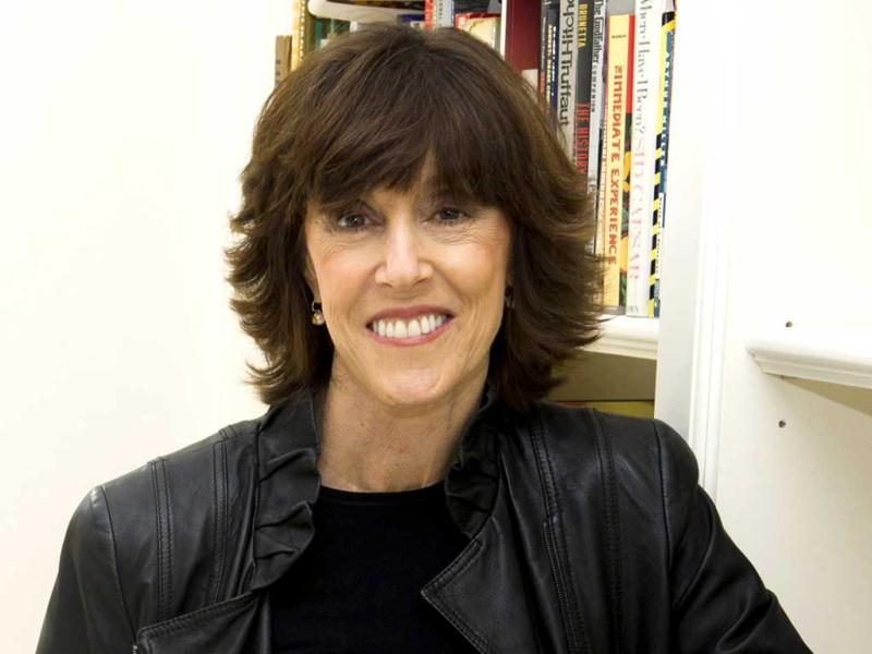 A file photo shows author, screenwriter and director Nora Ephron at her home in New York. Publisher Alfred A Knopf confirmed that author and filmmaker Nora Ephron died of leukemia in New York. She was 71. AP/Charles Sykes