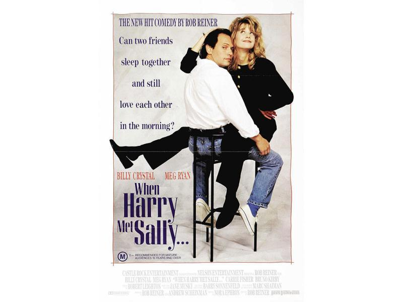 When Harry Met Sally: An all-time favourite that deals with the big Lovers or Friends dilemma women face.