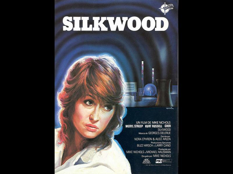 Silkwood: Ephron wrote the story of Karen Silkwood, a metallurgy worker, who was purposefully contaminated, psychologically tortured and possibly murdered to prevent her from exposing blatant worker safety violations at the plant.