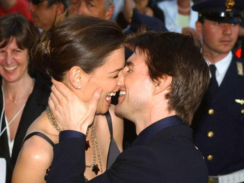 Tom Cruise and Katie Holmes have called it quits. A five-year old marriage and a six-year-old daughter later, here's a look at TomKat's happy journey.