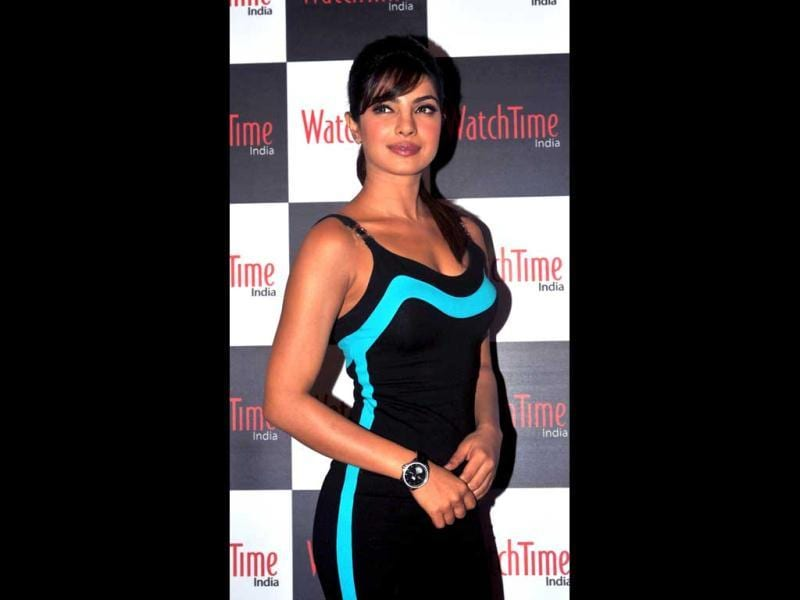 Priyanka Chopra is not seen experimenting with her looks much. (AFP photo)