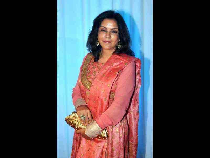 Actress Zeenat Aman was also present at the grand event.