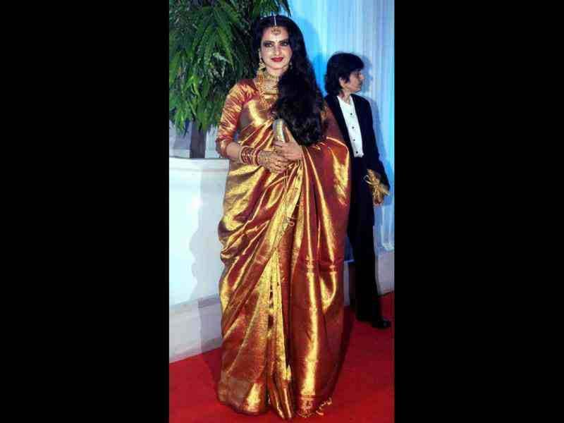 Yesteryear actress Rekha also attended the function.