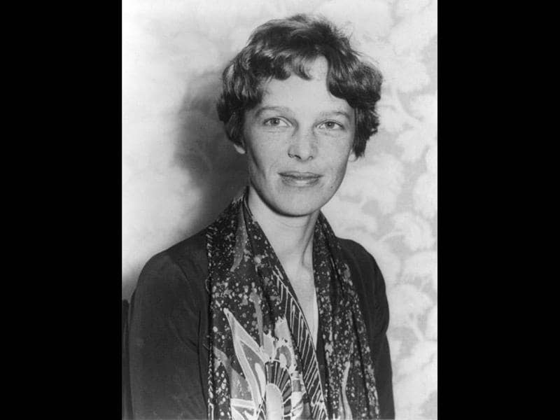 Famed aviatrix Amelia Earhart is pictured in this undated photograph. Seventy-five years after Amelia Earhart disappeared over the Pacific, researchers prepared on Monday to launch a 10-day expedition to look for wreckage of her airplane near a remote island where they believe the US aviator died as a castaway. REUTERS/US Library of Congress