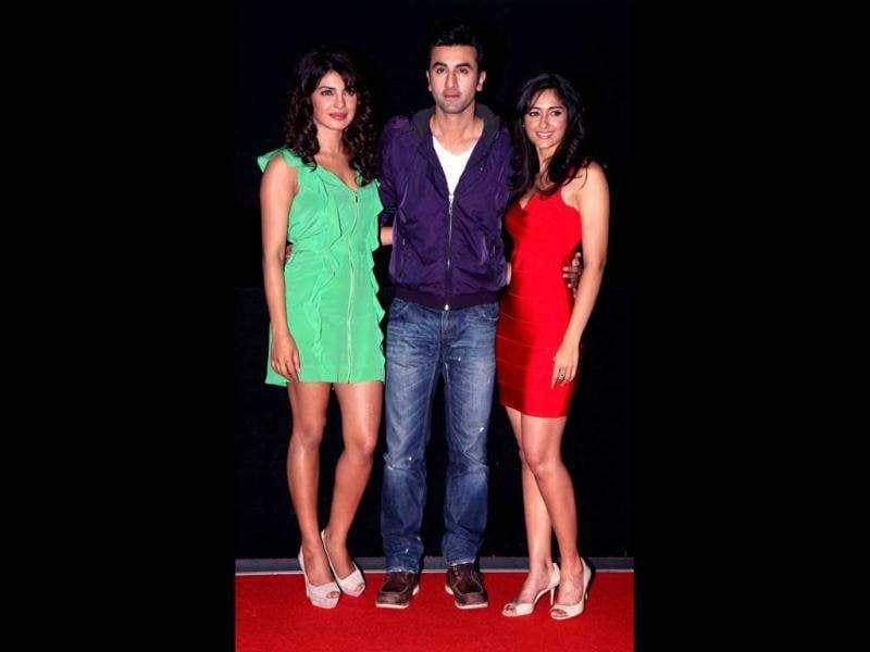 Priyanka Chopra, Ranbir Kapoor and Telugu star Ileana D'cruz will star in Anurag Basu's much awaited offering, Barfi.
