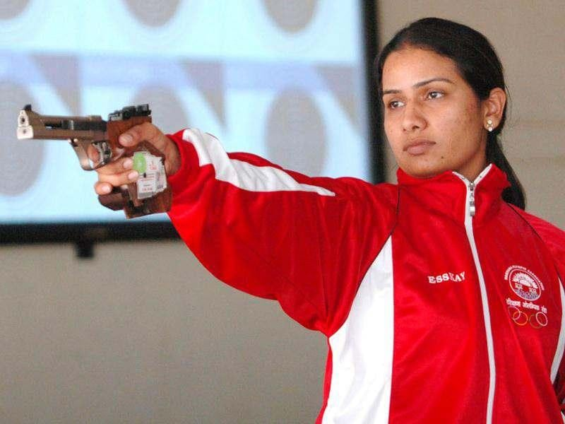 Annu Raj Singh (10m Air Pistol): The 28-year-old shooter hails from Uttar Pradesh, but has kept Faridabad (Haryana) as her shooting base. She won the quota place by winning silver medal in the world cup held in Fort Benning, USA, in 2011. She became the first-ever Indian women pistol shooter to earn Olympic berth.