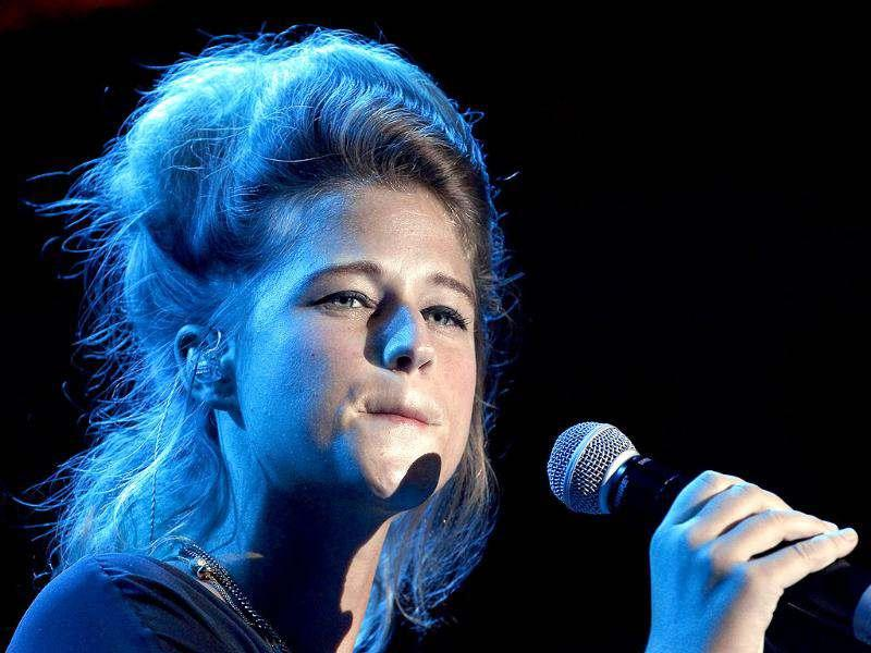 Singer Selah Sue of Belgium performs during the Nice Jazz Festival in Nice. Reuters/Eric Gaillard
