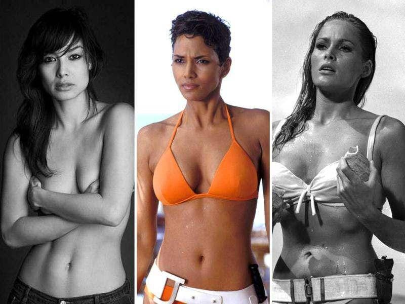 Whether ally or enemy, Bond girls undoubtedly ooze glamour and sophistication, so in honour of the James Bond franchise's 50th anniversary here is a reminder of some of the film's biggest beauty icons - from Ursula Andress and Halle Berry to Gemma Arterton and Berenice Marlohe.