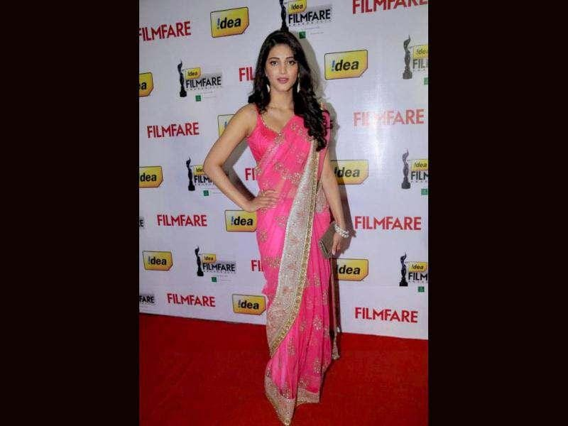 Shruti Haasan even performed at the 59th Filmfare awards.