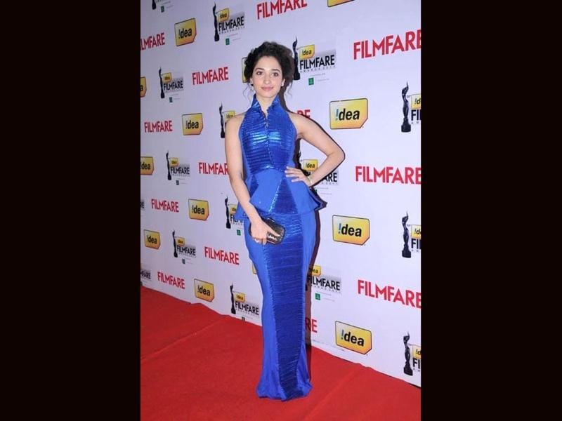 Tamanna looked chic in Nisshk by Nishka Lulla.