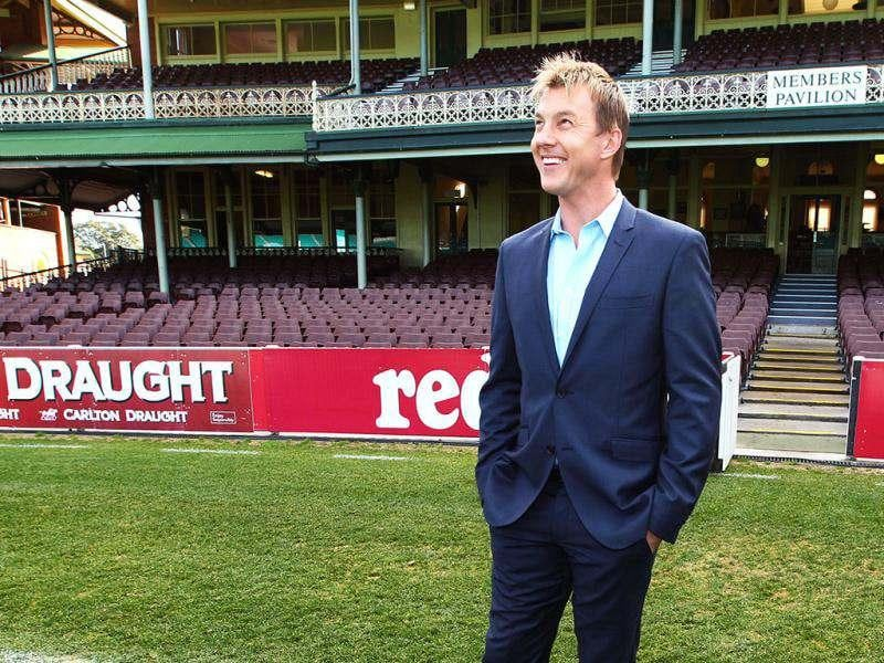 Brett Lee looks around the ground as he poses for photos at the Sydney Cricket Ground in Sydney. Veteran Australian pace bowler Brett Lee has announced his retirement from all international cricket but will continue to play Twenty20 matches in the Indian Premier League and in Australia's domestic Big Bash competition. (AP Photo/Rick Rycroft)