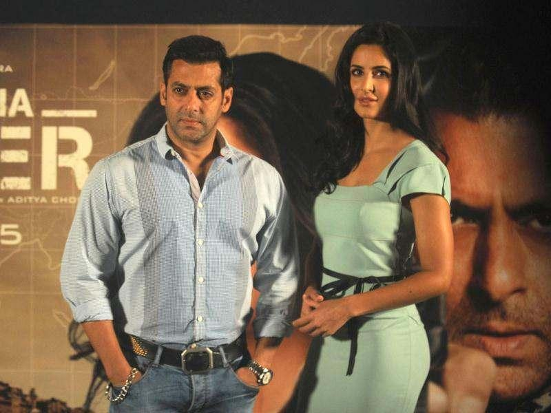 Following much hype and buzz, Salman Khan and Katrina Kaif launched the first song Mashallah from their upcoming film Ek tha Tiger. Watch the song here