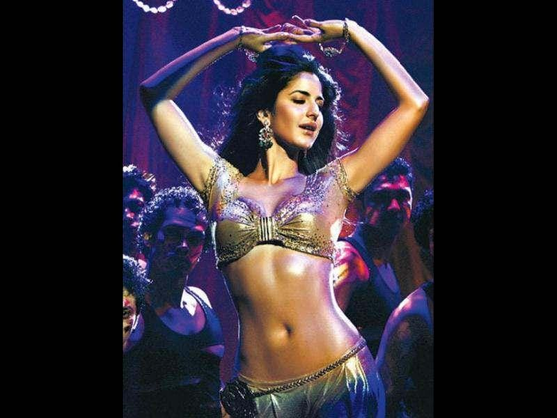 DANCING BEAUTY! Katrina's Sheila Ki Jawani showed the actress' belly dancing skills.