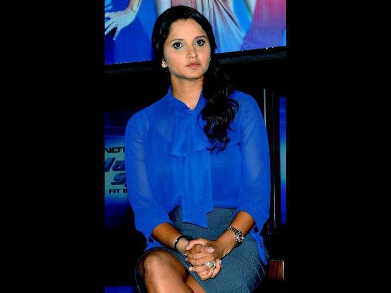 Tennis player Sania Mirza also attended the launch.