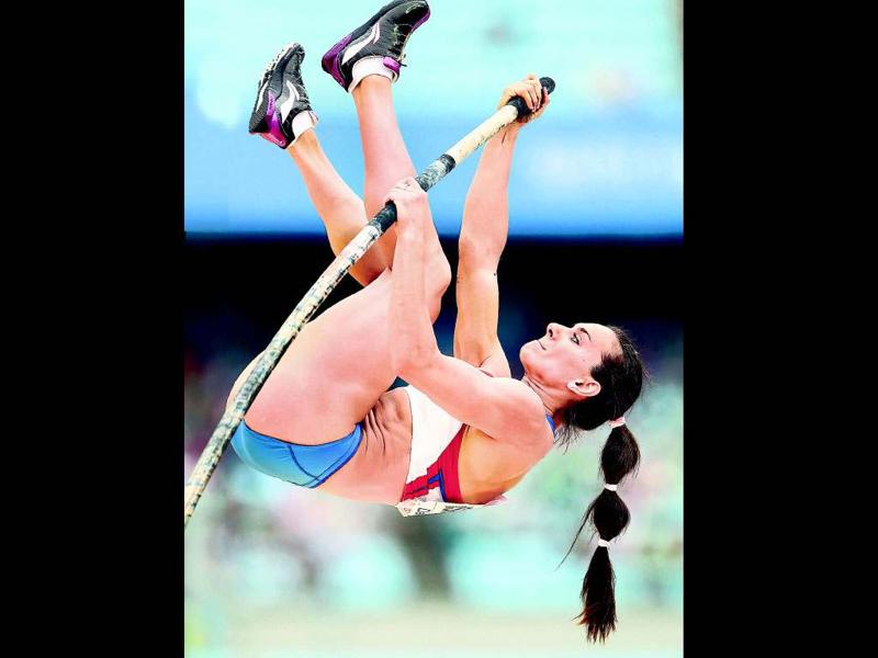 Yelena Isinbayeva - Pole vault, RussiaThe Russian pole vault queen has broken 28 world records. The two-time defending Olympic champion will look to make it three in a row, buoyed by gold and a world record at the indoor world championships earlier this year.