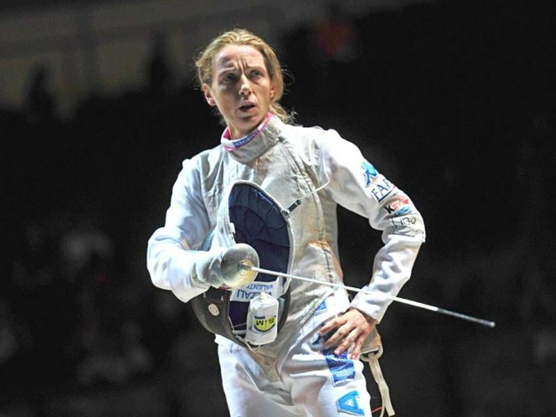 Valentina Vezzali - Fencing, ItalyThe 38-year-old fencing legend has five Olympic gold medals, 13 world championship gold medals and the sword skills of the protagonist of an Alexander Dumas novel (her Attaque au Fer would do The Three Musketeers proud).