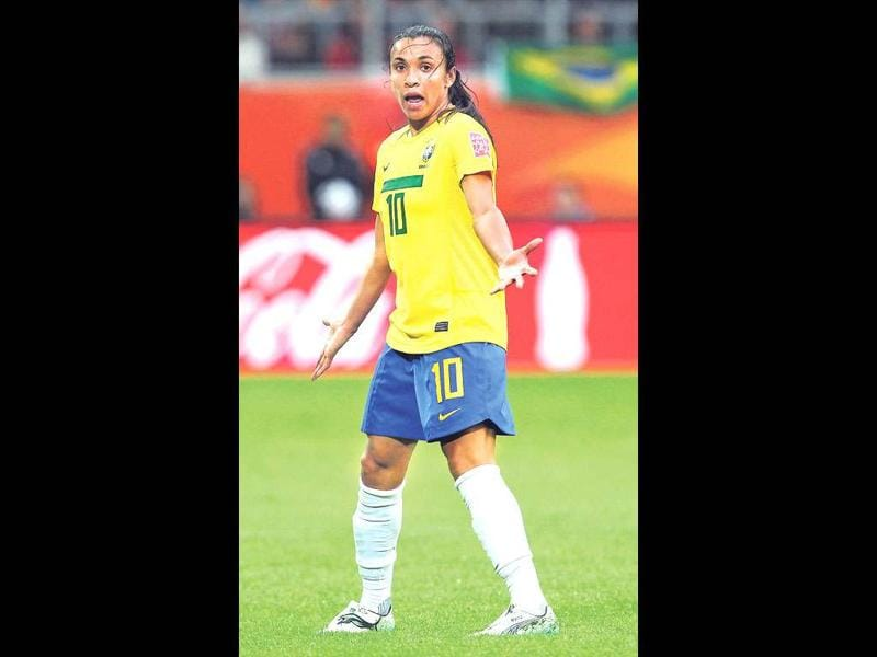 Marta - Football, BrazilThe best female footballer on the planet, Marta, will not just be there, she'll be there on a mission. Called Pele in a skirt (she's also played club football for the Brazilian legend's former club Santos), her football skills rival those of her male counterparts and has enthralled purists.