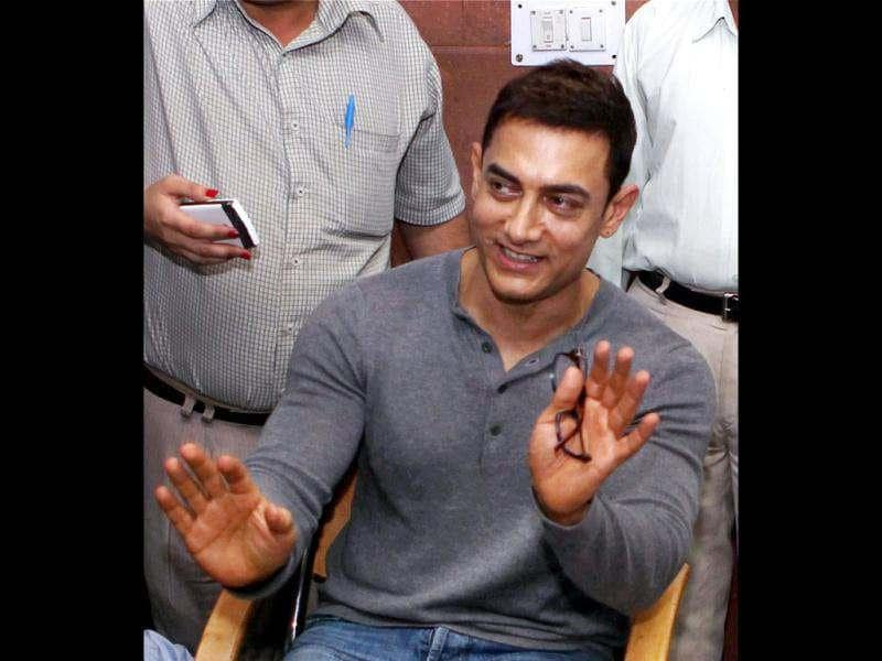 Aamir had highlighted the issue of manual scavengers in a recent episode of his TV show Satyamev Jayate.