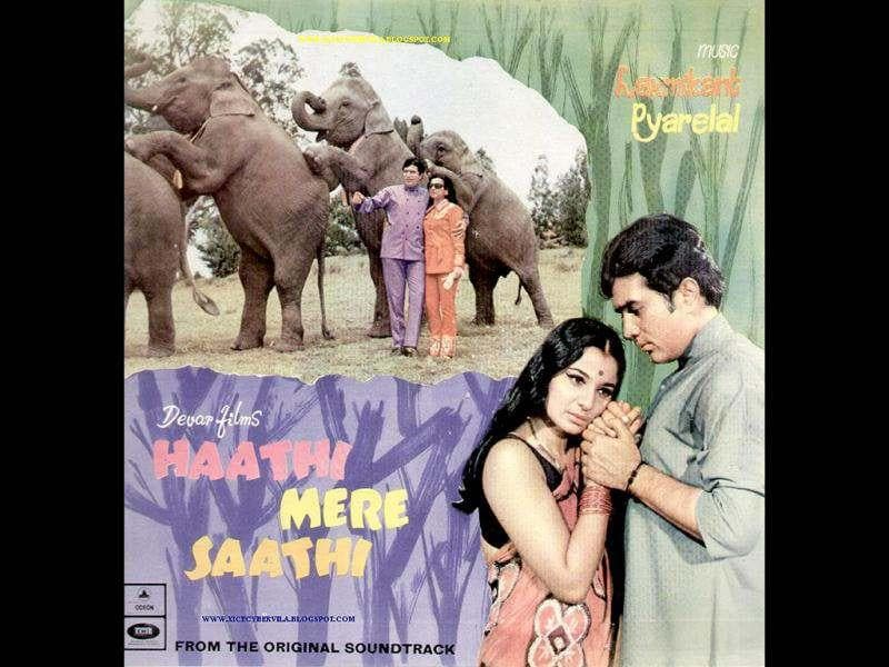 Haathi Mere Saathi was the biggest hit of 1971, going by box office collections and was a favourite with children in the early 1970s. The entertainer ranks high among the biggest ever hits of Rajesh Khanna's career, and was directed by M A Thirumugham.