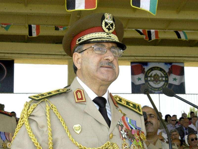 A picture released by the official Syrian Arab News Agency SANA shows Syrian defence minister, General Daoud Rajha, who was then the deputy commander of the Syrian armed forces. Rajha was killed on July 18, 2012, in a suicide bombing targeting the National Security headquarters in central Damascus, state television reported. AFP Photo