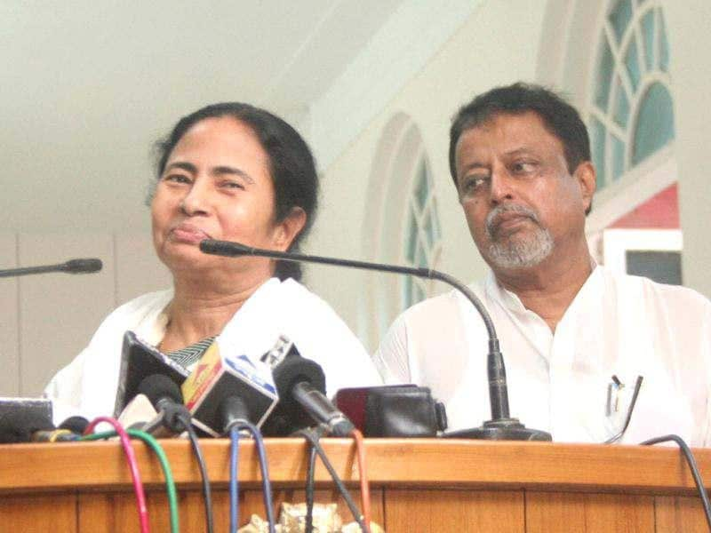 West Bengal chief minister Mamata Banerjee addressing mediapersons at the Writers' Building in Kolkata on Wednesday. Agencies