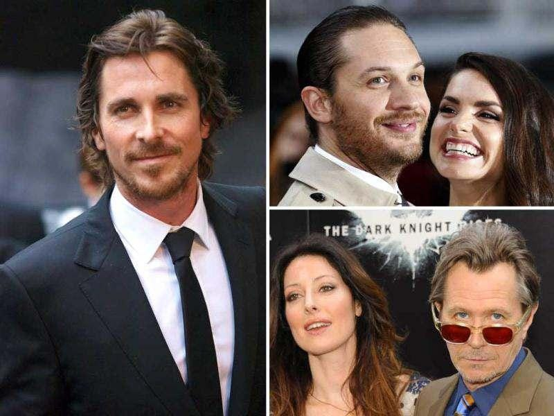 The European premiere of Chritian Bale's latest film The Dark Knight Rises was a grand affair. Here's a look at the do.