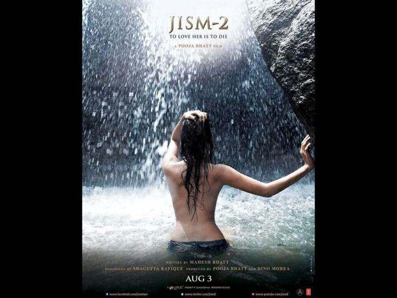 Sunny Leone bares her back for Jism 2 new poster.