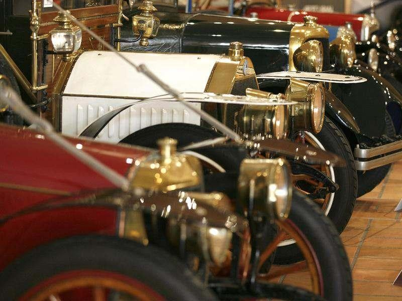 Cars of the collection of Prince Albert II of Monaco displays at the Automobile Museum in Monaco. AP photo/Lionel Cironneau