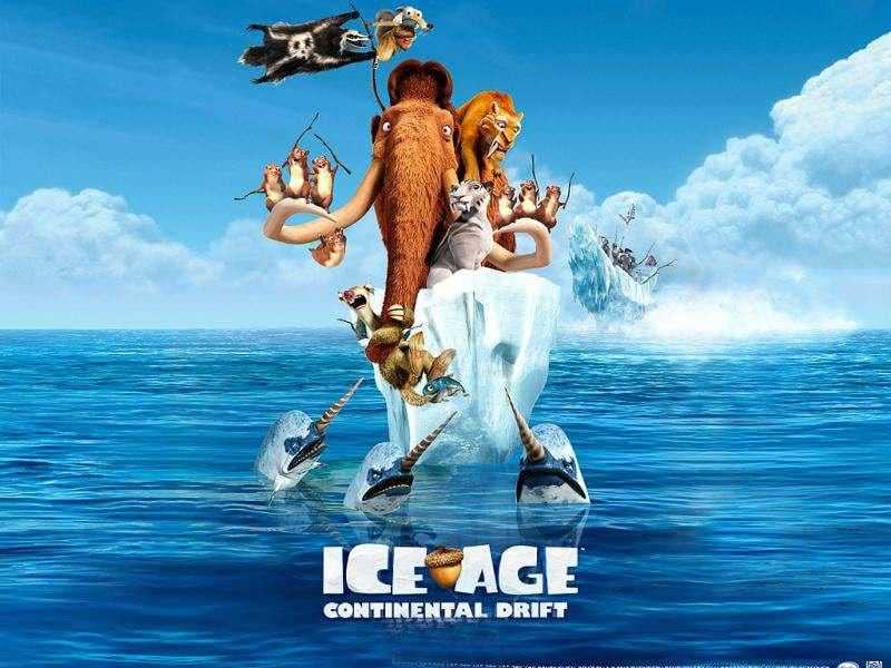 So, what will Scrat, Manny, Sid and Diego do to stay away from trouble this time!
