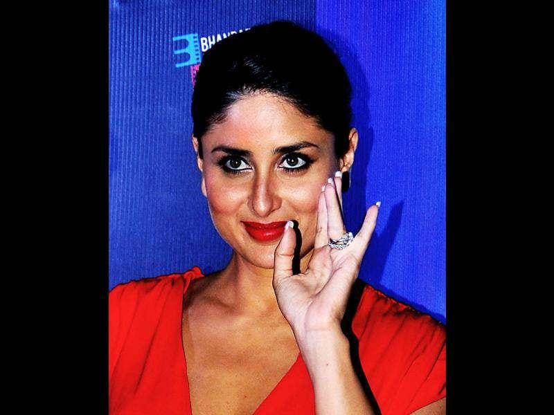 Madhur Bhandarkar recently released the first poster of the film on Twitter. The poster has Kareena dressed in a shimmery tank top and shorts lying down on a bed surrounded by magazines and photos of herself and an empty wine glass.