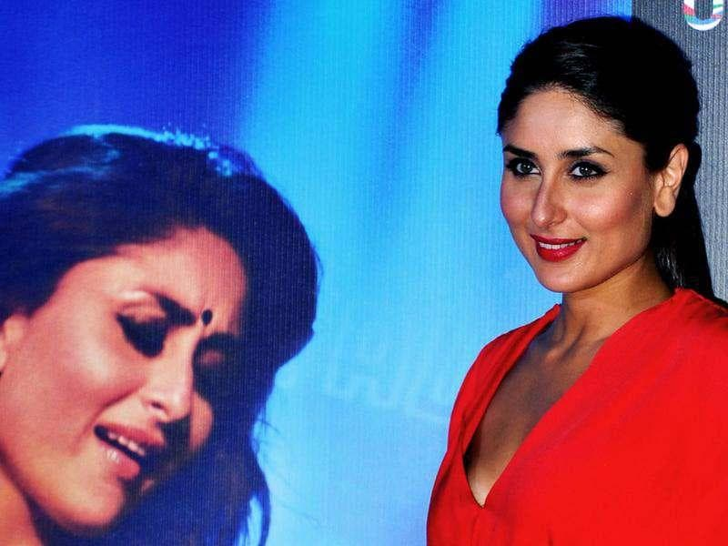 Kareena Kapoor looked stunning in a red jumpsuit at the launch of her most promising film Heroine, in Mumbai on July 25. In the recent trailer, Kareena Kapoor lives up to the expectations as she gets into the skin of her character Mahi.