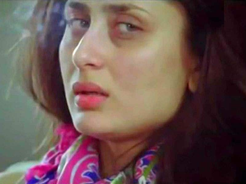 Kareena Kapoor in a low mood.