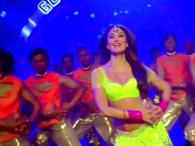 Kareena Kapoor in a dance number.