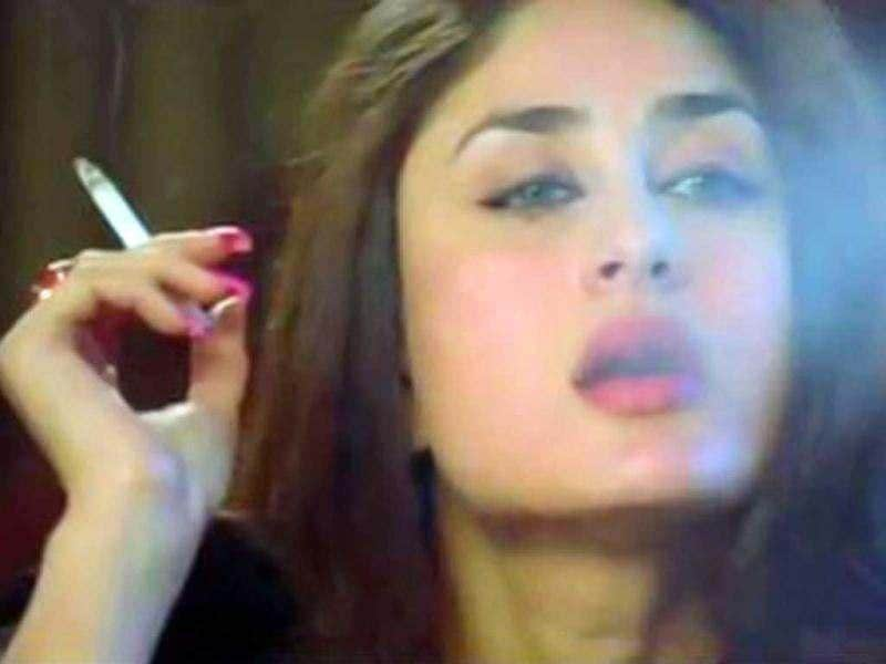 Kareena Kapoor is also seen smoking in the film.