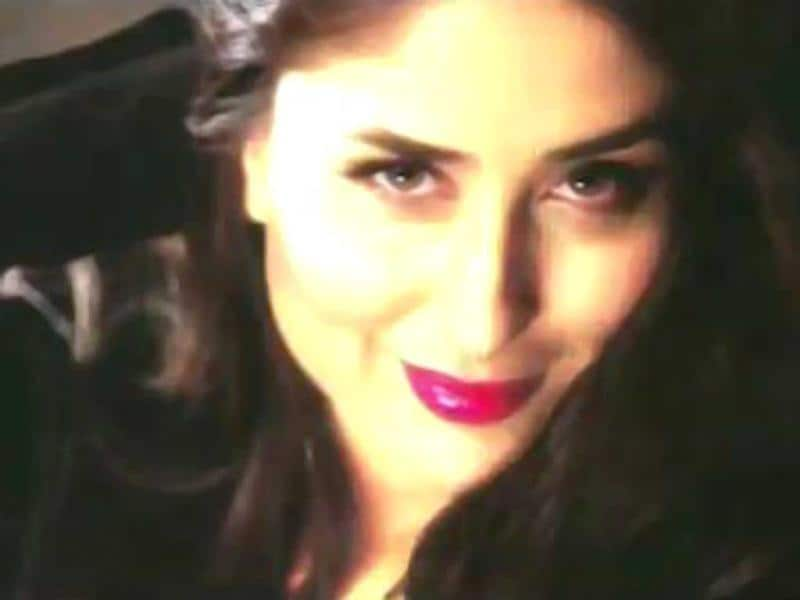 Kareena Kapoor is wearing loud make-up in the movie.