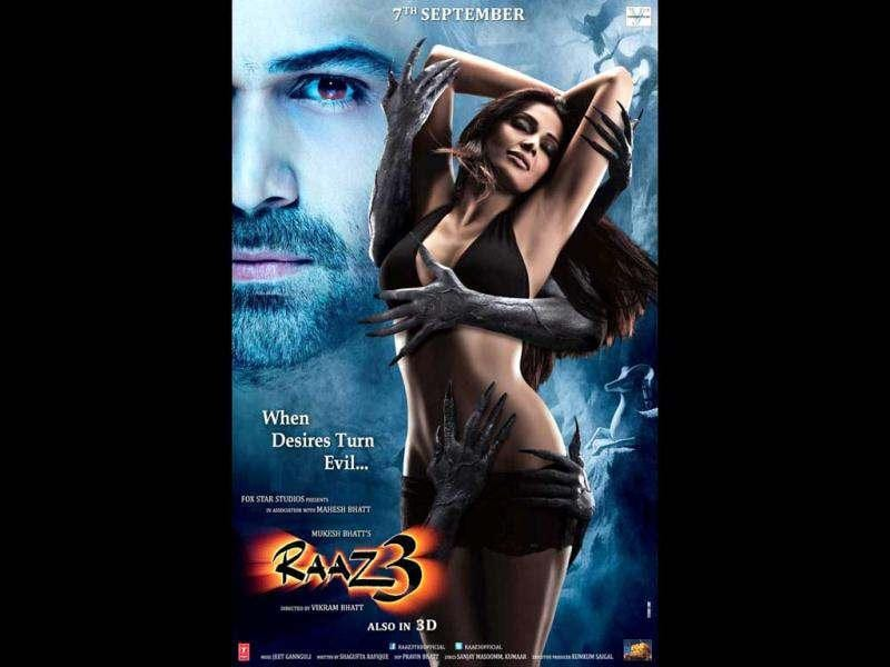 Bipasha Basu looks hot in the poster of the film.