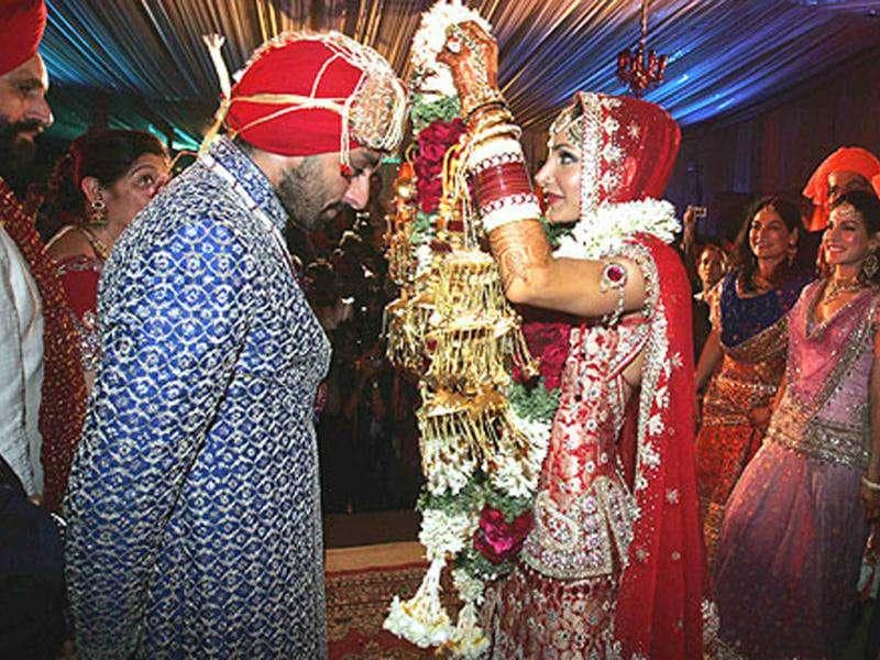 Vikram Chatwal and Priya SachdevYear: 2006Venue: Mumbai/Udaipur/DelhiCost: R100 crore (approx)The three day affair of hotelier Vikram Chatwal and model- investment banker Priya Sachdev was celebrated across three Indian cities - Mumbai, Udaipur and Delhi. Father Sant Chatwal arranged for private jets to pick up the guests from 26 different countries across the globe.