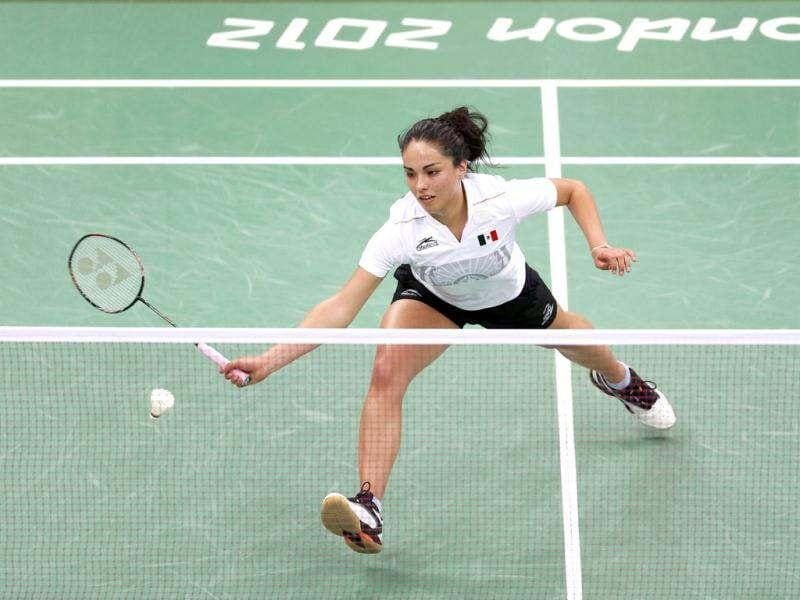 Mexico's Victoria Montero plays against Taiwan's Tai Tzu-ying during their women's singles group play stage Group K badminton match during the London 2012 Olympic Games at the Wembley Arena. Reuters/Bazuki Muhammad