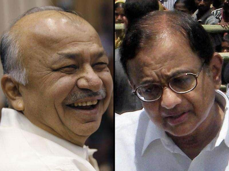 P Chidambaram takes over as finance minister; Sushil Kumar Shinde becomes home minister.