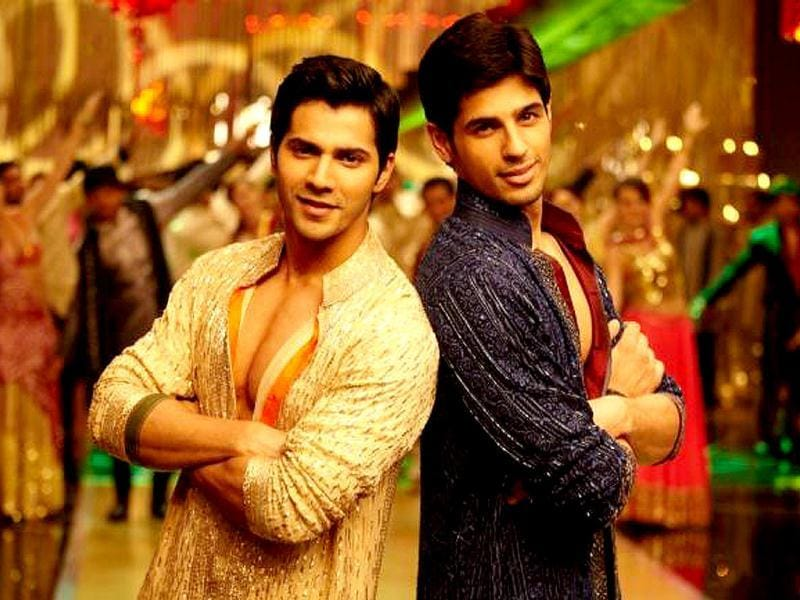 Varun Dhawan and Siddharth Malhotra vie for Student of the year trophy in the film.